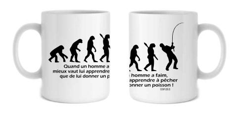 offrez un mug pêcheur