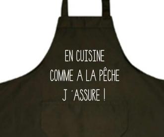 Tablier Cuisine Pecheur Le Tee Shirt Du Pecheur