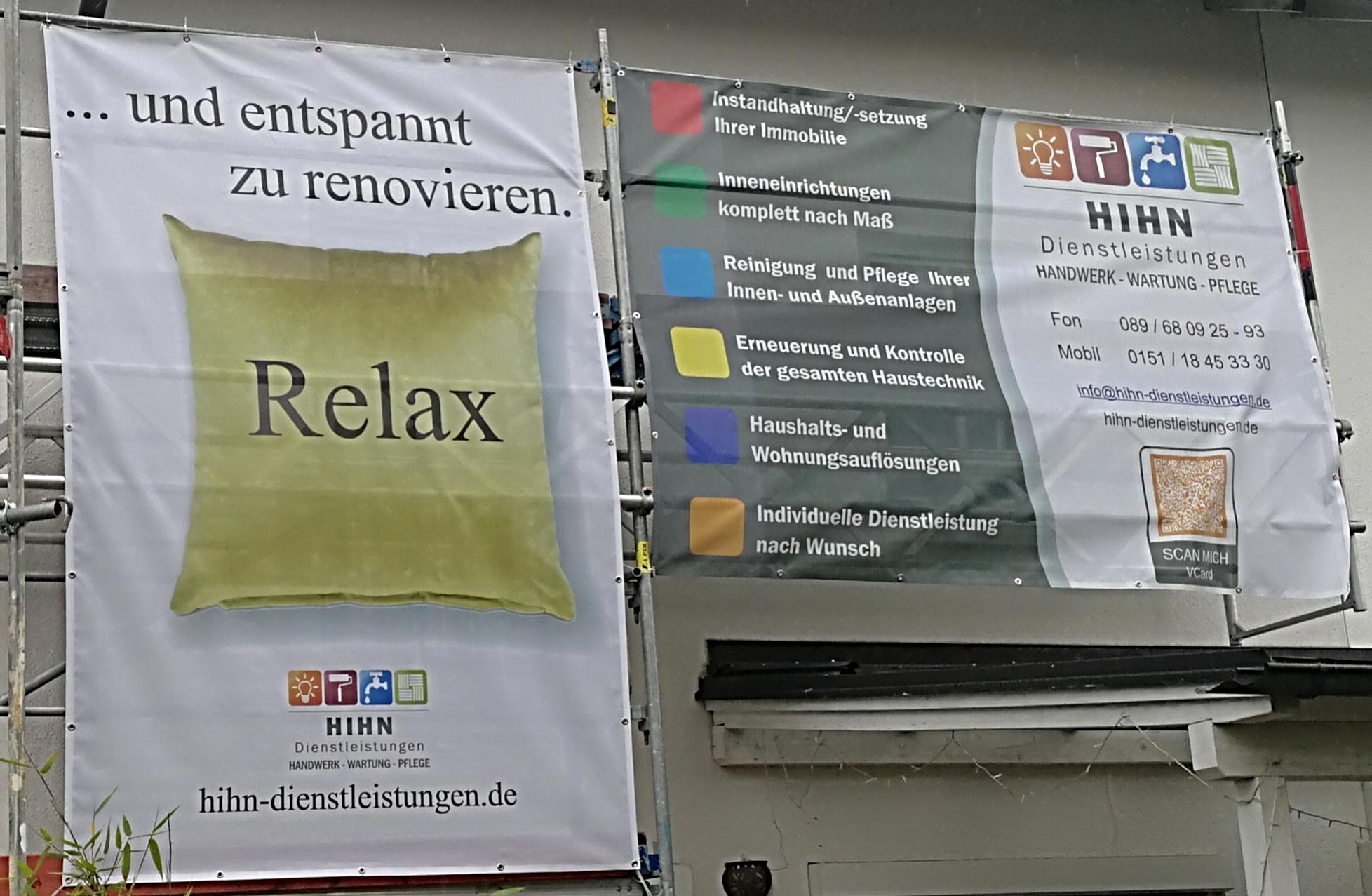 Werbung Relax