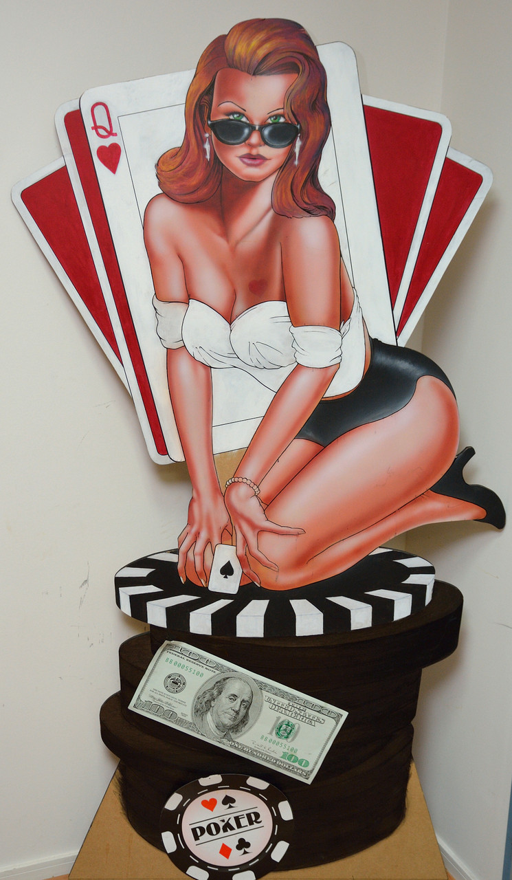 UNE  PIN UP POCKER