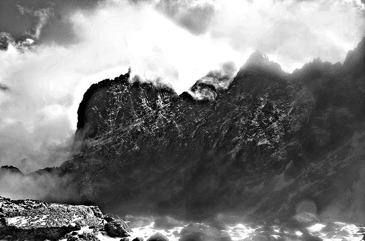 Silver Mountains IX /Inkjet-Print/70x50cm/2016