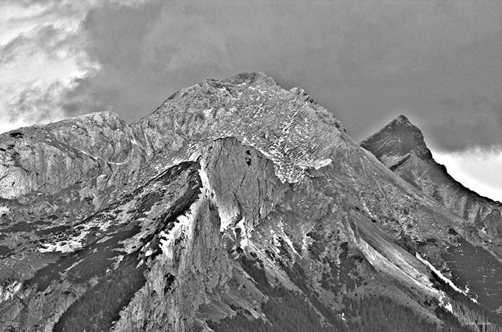 Silver Mountains X /Inkjet-Print/70x50cm/2016