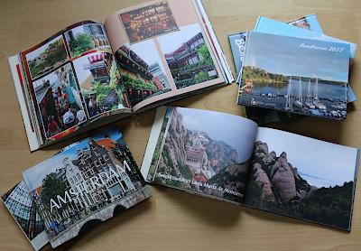 Klicken statt Kleben - CEWE-Fotobuch