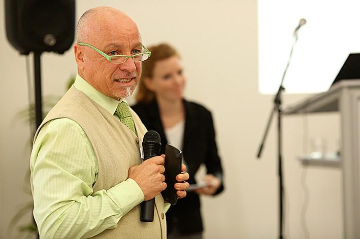 Dr. Robert Hermanowski (FiBl) führte als engagierter Moderator durch den Tag