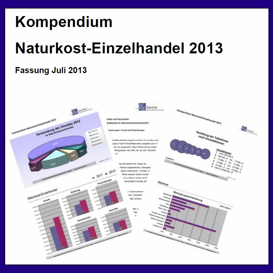 Das Kompendium 2013 liefert aktuelle Daten aus dem Fachhandel...