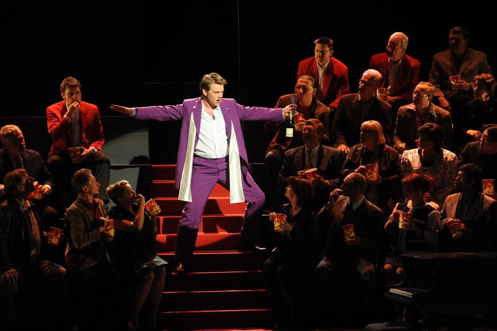 Genoveva (Hidulfus) Plauen 2011 Foto: Peter Awtukowitsch; mit dem Chor des Theaters Plauen Zwickau