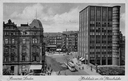 Postkarte vom Capitol-Hochhaus aus dem Jahr 1936