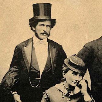 Henry John Heinz mit seiner Frau Sarah