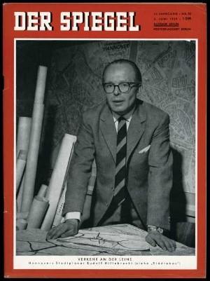 Spiegel-Ausgabe aus dem Jahr 1959