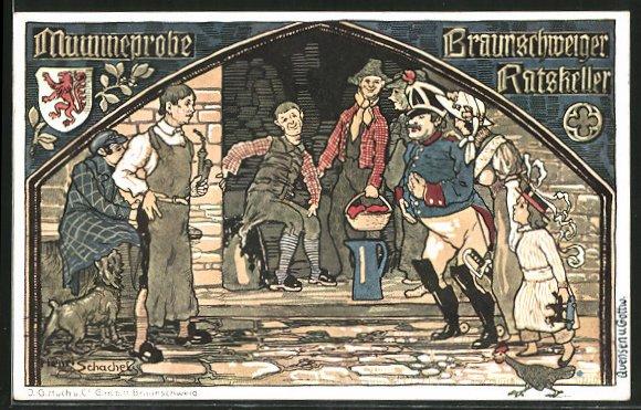 Die Braunschweiger Mumme war bereits im Mittelalter bekannt.  Das malzhaltige Getränk wurde als Proviant für die Seefahrer  verschifft und machte so Braunschweig in aller Welt bekannt.