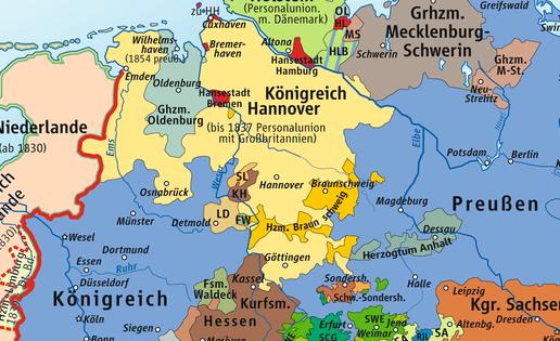 Das Königreich Hannover von 1815-1866