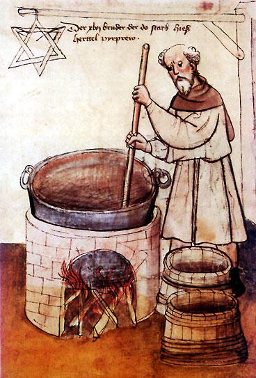 Deutscher Braumeister um 1430