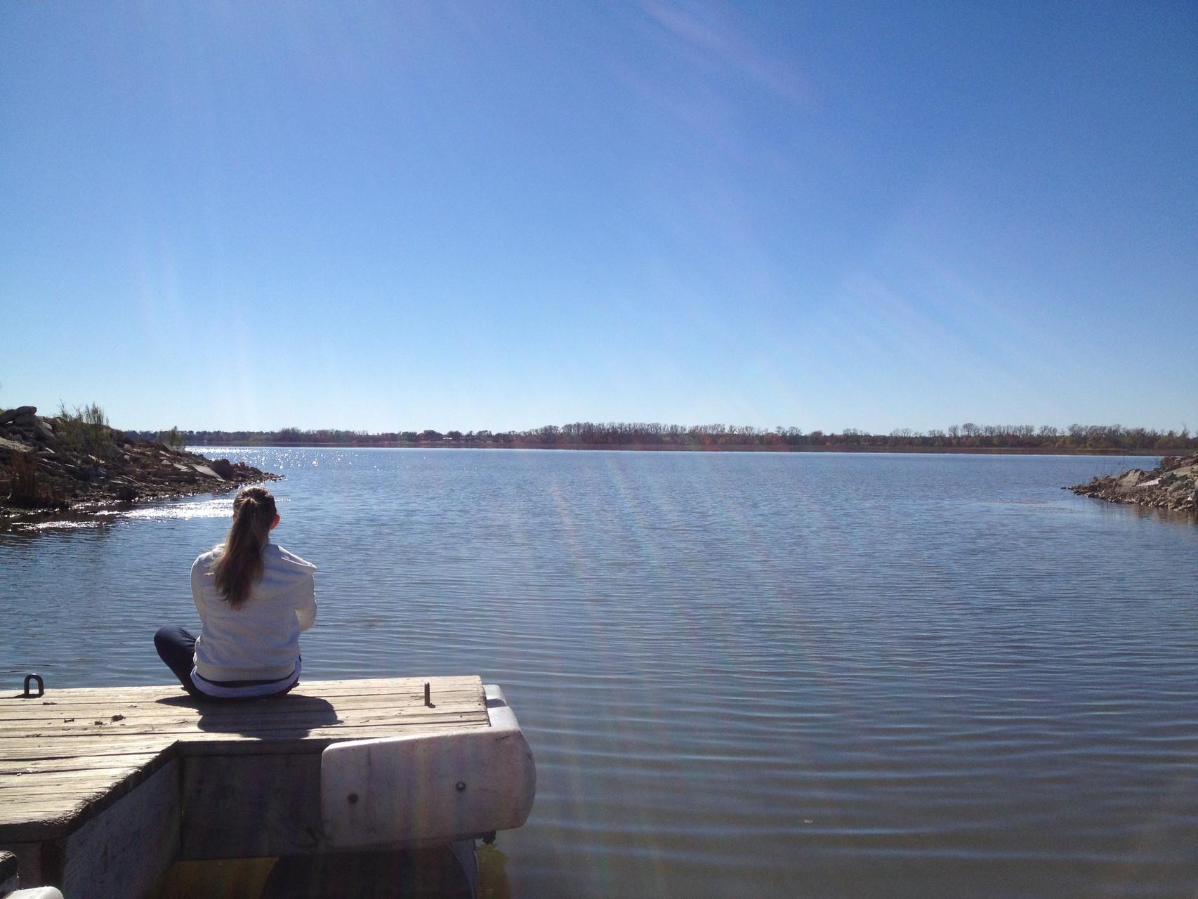 an dem schönen See