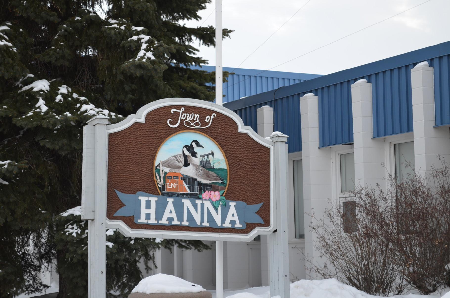 City of Hanna...der Inbegriff der Pampa....