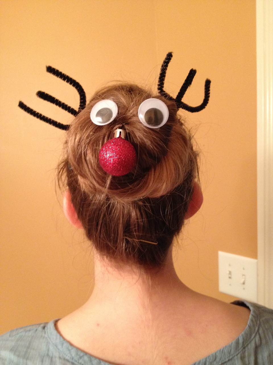 meine Weihnachtsfrisur
