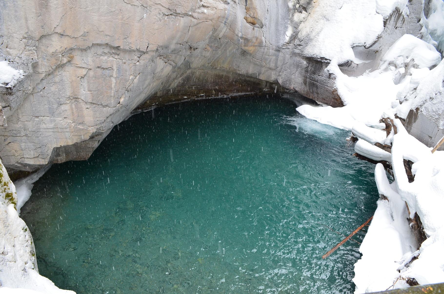 Natürliches Wasser im Park