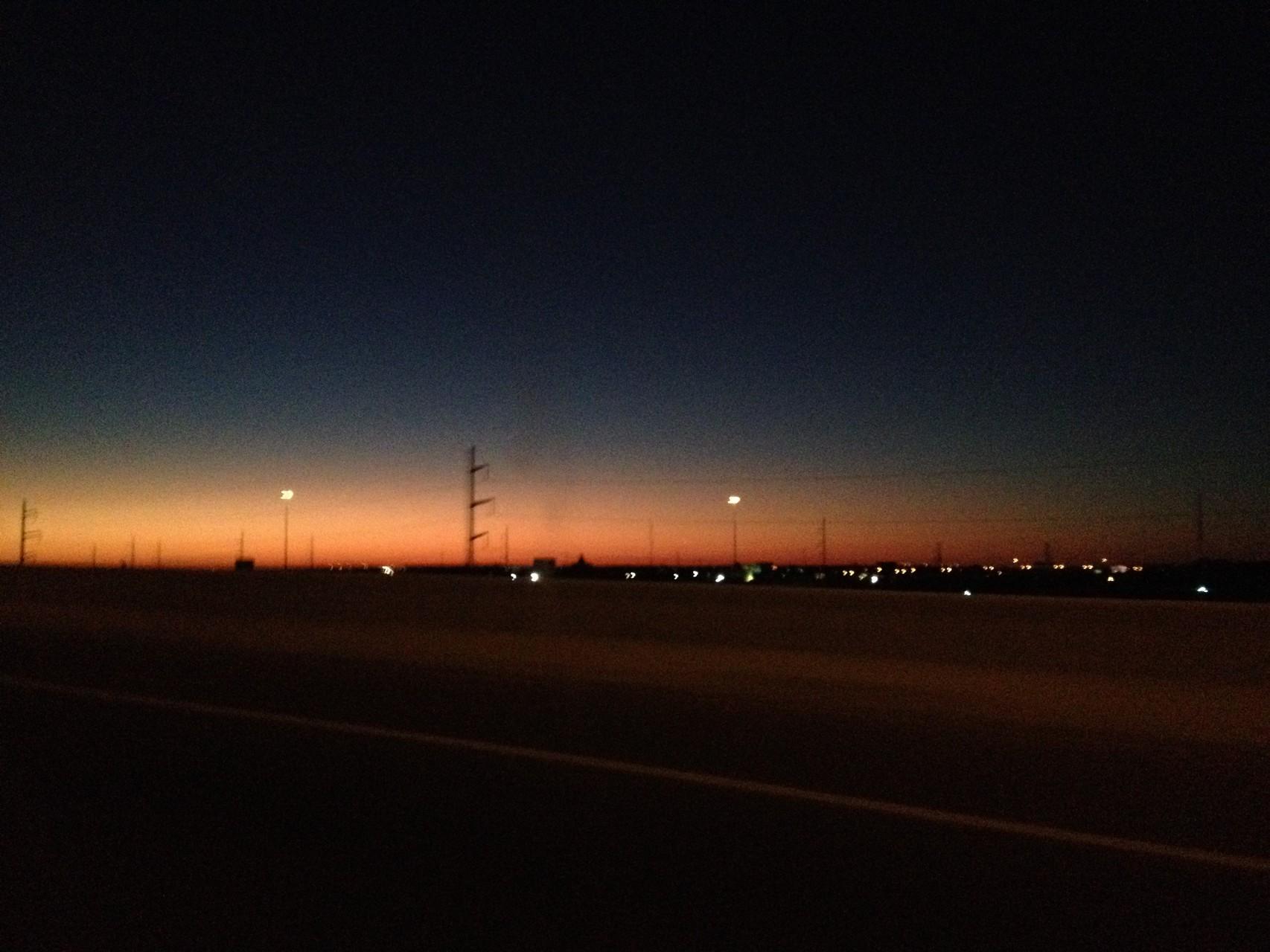 Sonnenaufgang in Texas