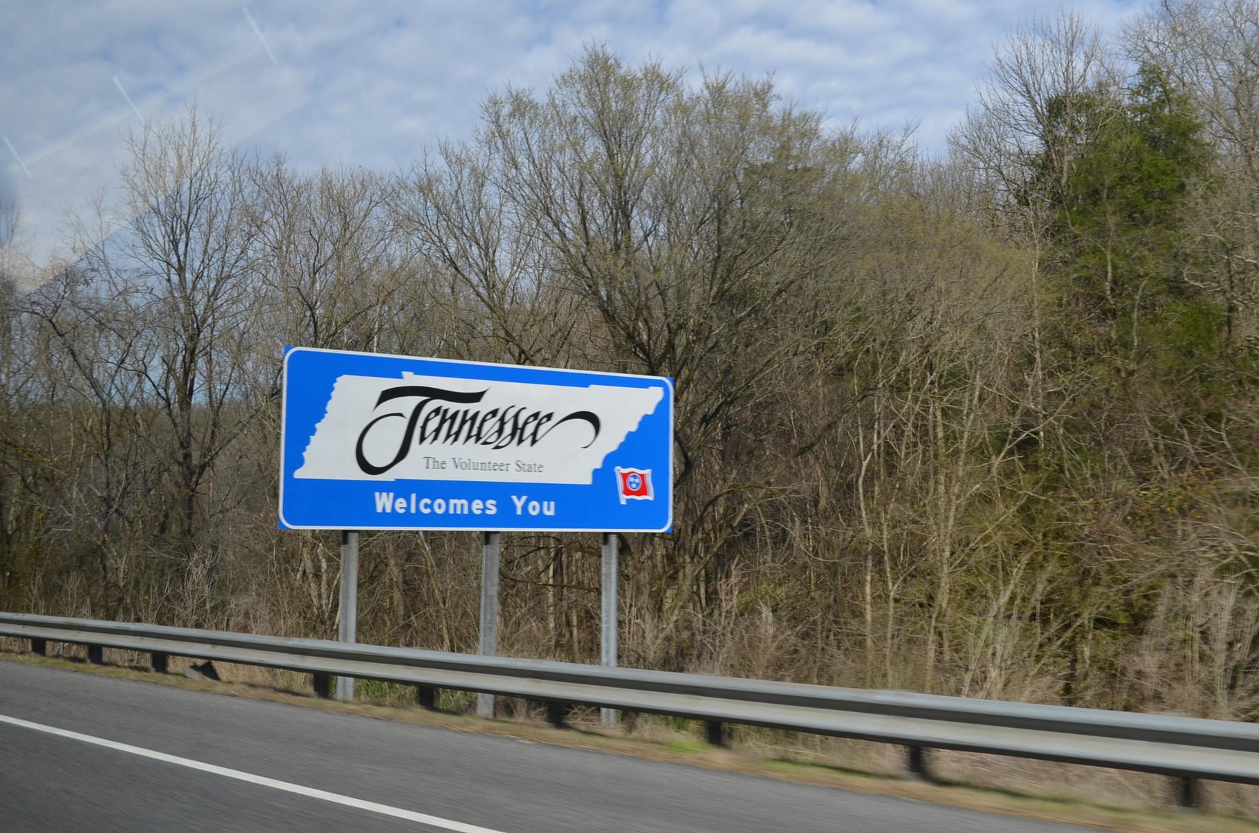 und schon wieder zurück im wunderschönen Tennessee!