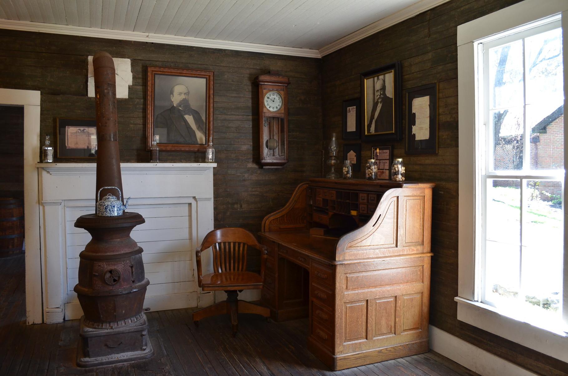 Jack Daniels' büro