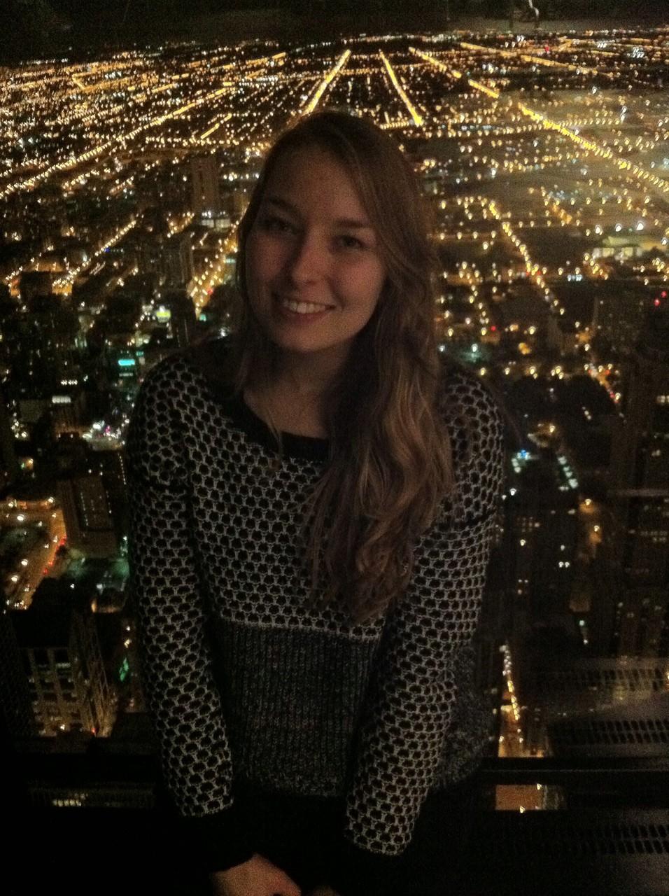 Über Chicago, Blick aus dem Hancock Tower
