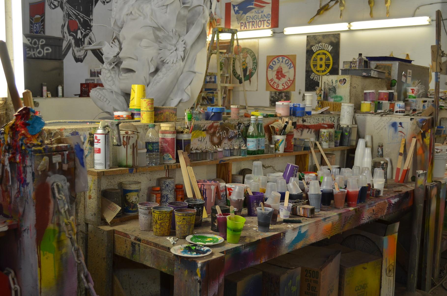 Arbeitsort der Künstler