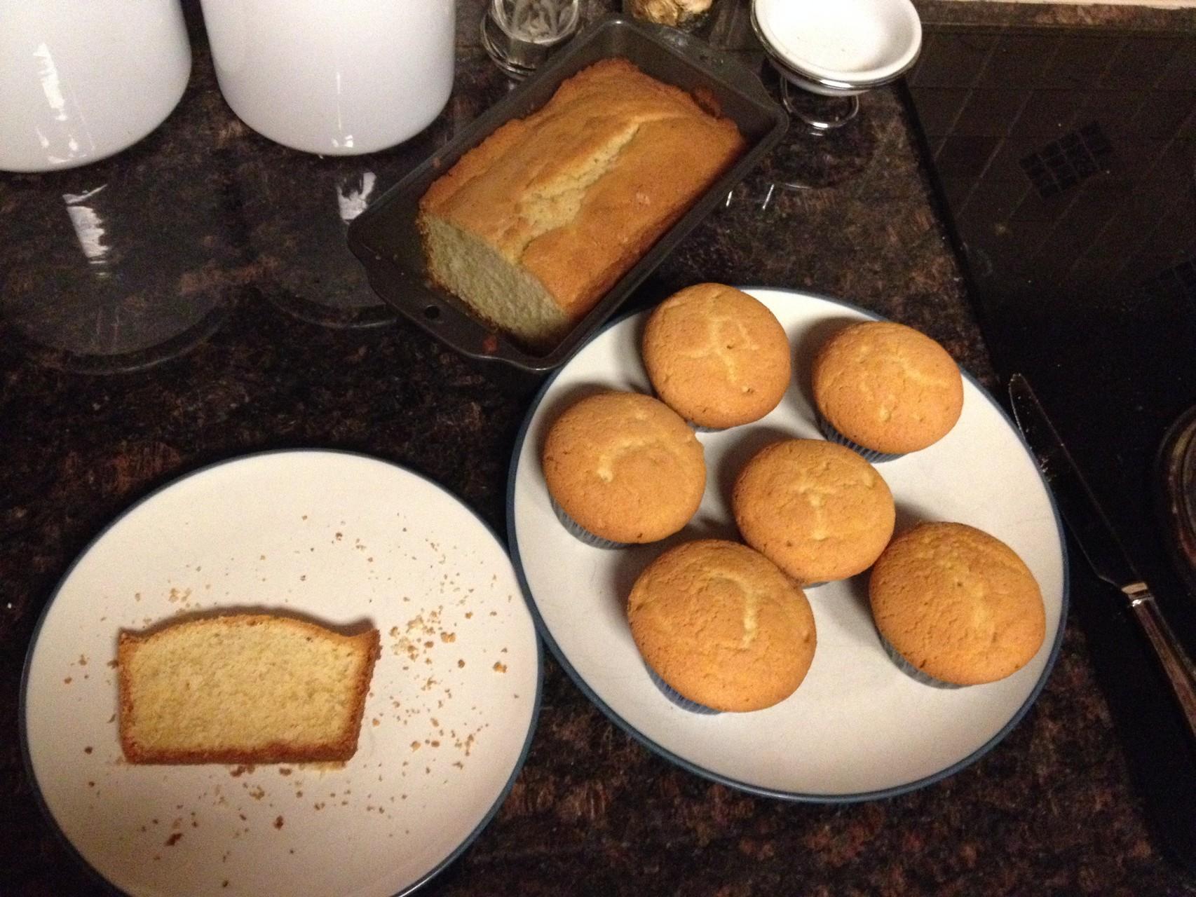 Königskuchen bzw. Muffins
