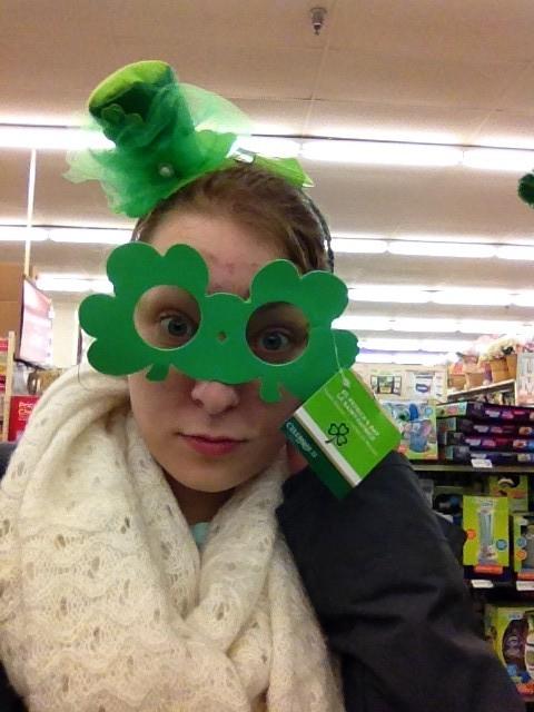 Zeug für St. Patricks Day