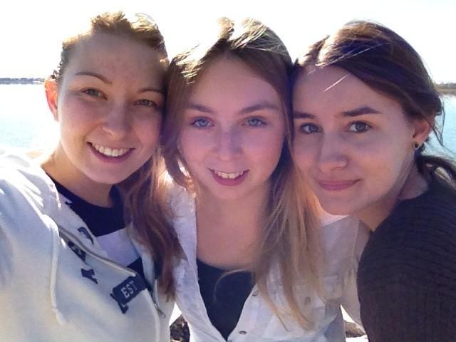wir drei Mädels
