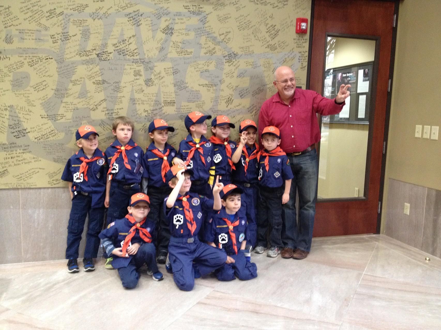 Boy Scouts bei der 'Dave Ramsey Show'