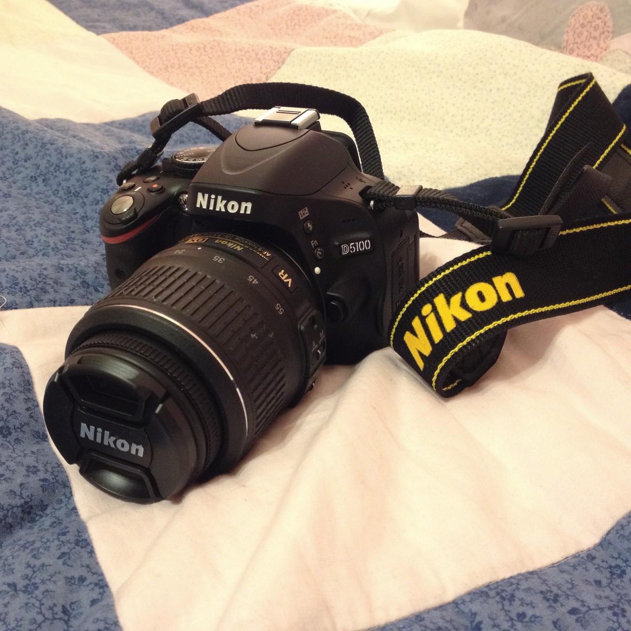 ...mit meiner neuen Kamera Nikon D5100!!