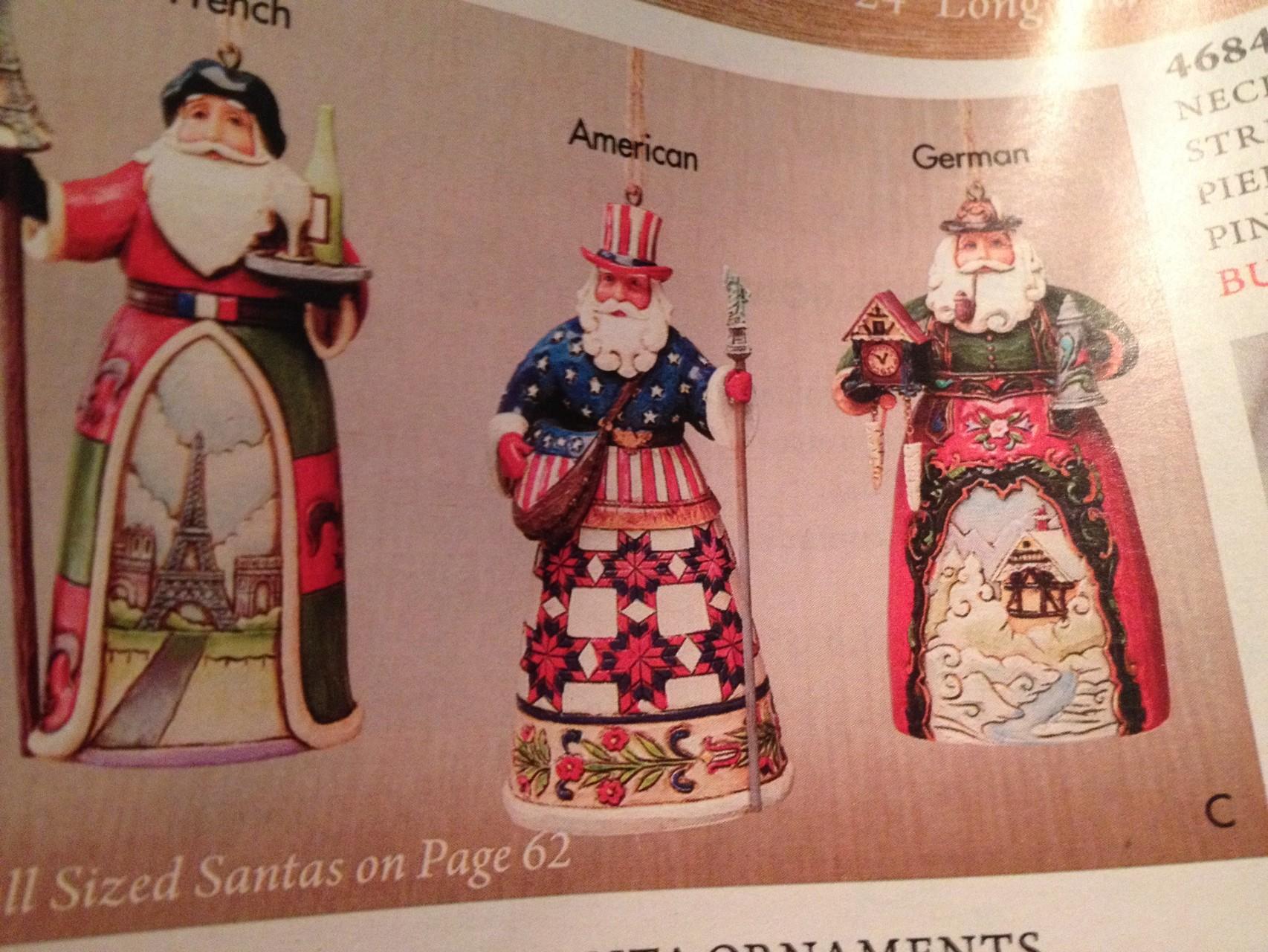 """Natürlich hat der """"deutsche Weihnachtsmann"""" eine Kuckucksuhr und einen Bierkrug!"""