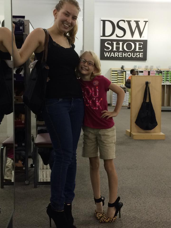 Schuh-Shopping → Ergebnis siehe nächstes Bild ;-)