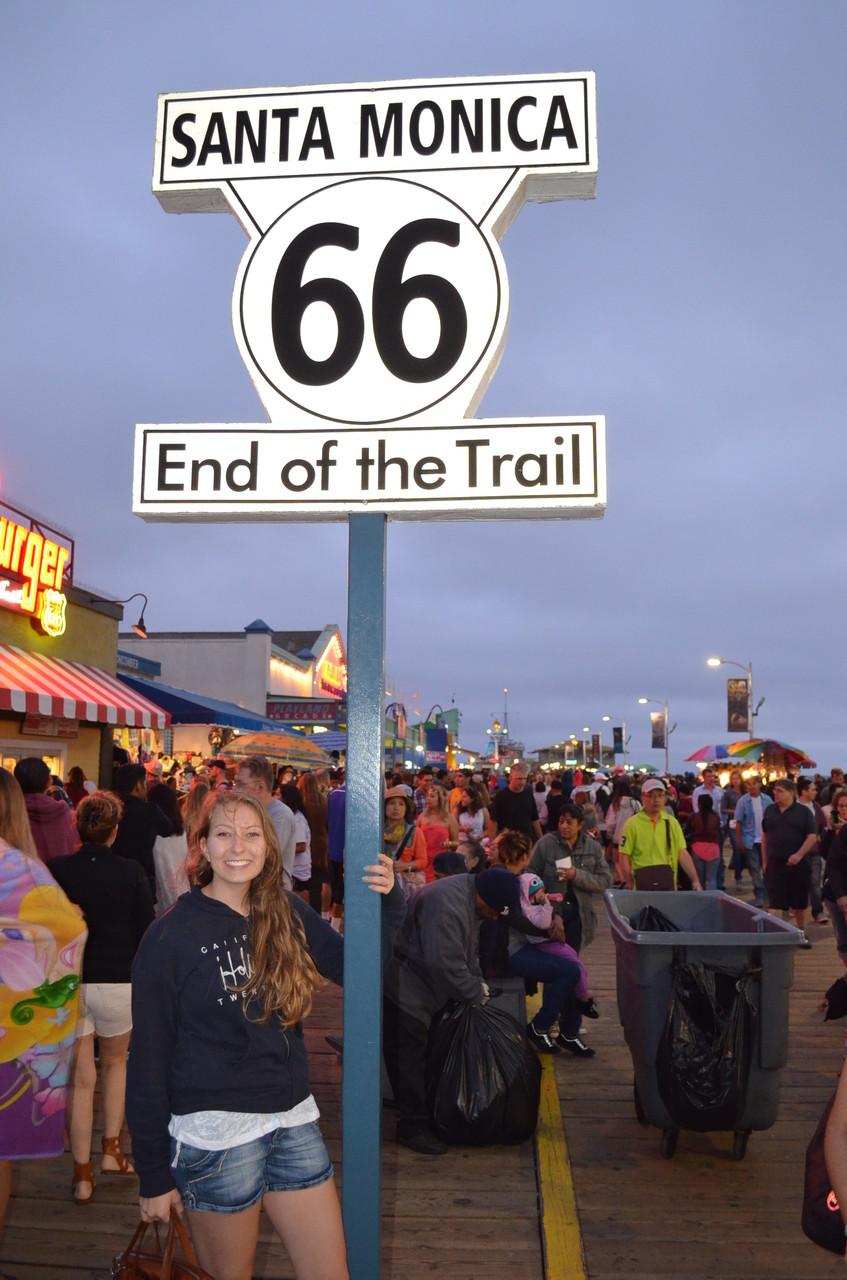 Ende der Route 66!