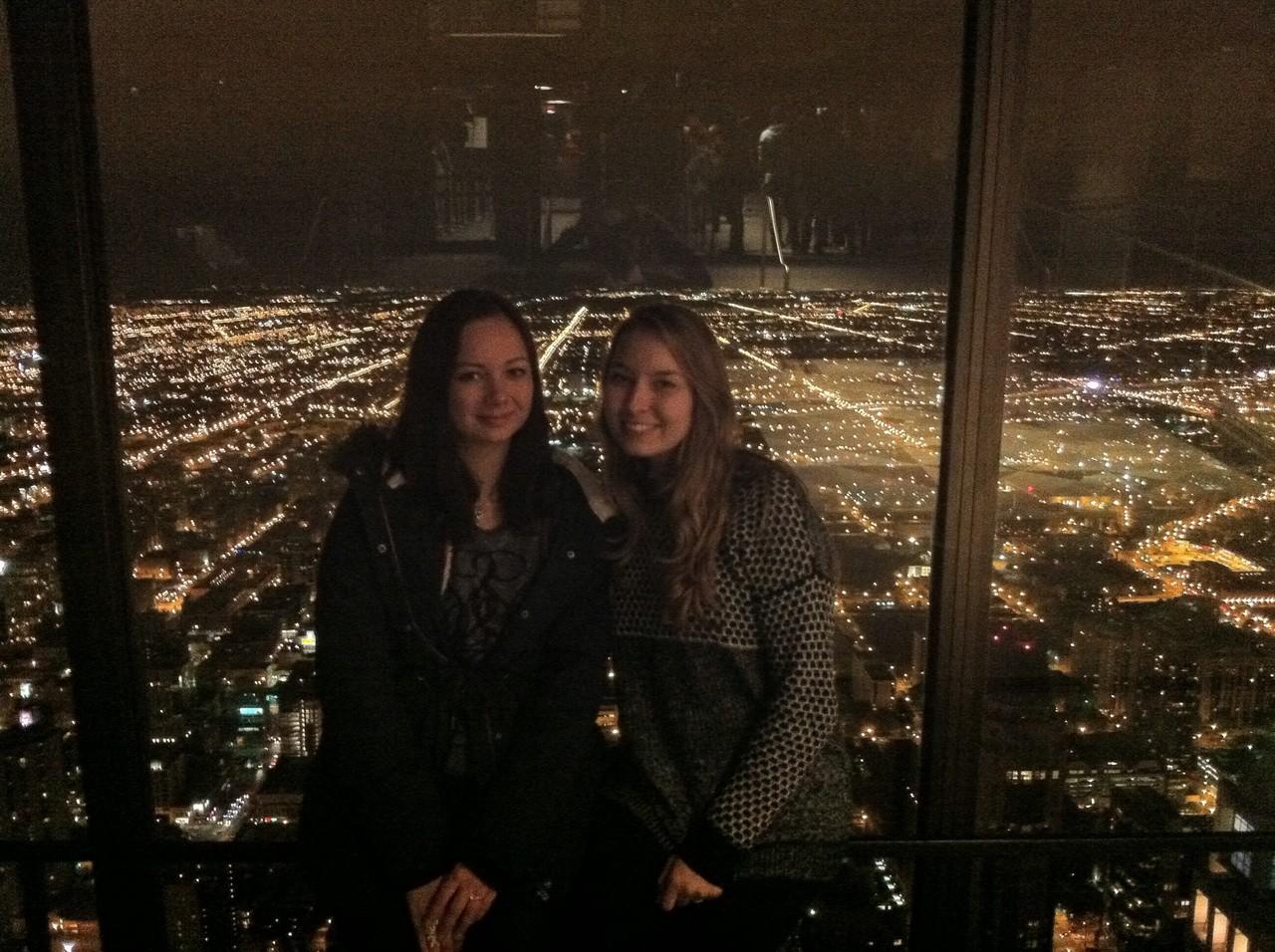 nachts über Chicago