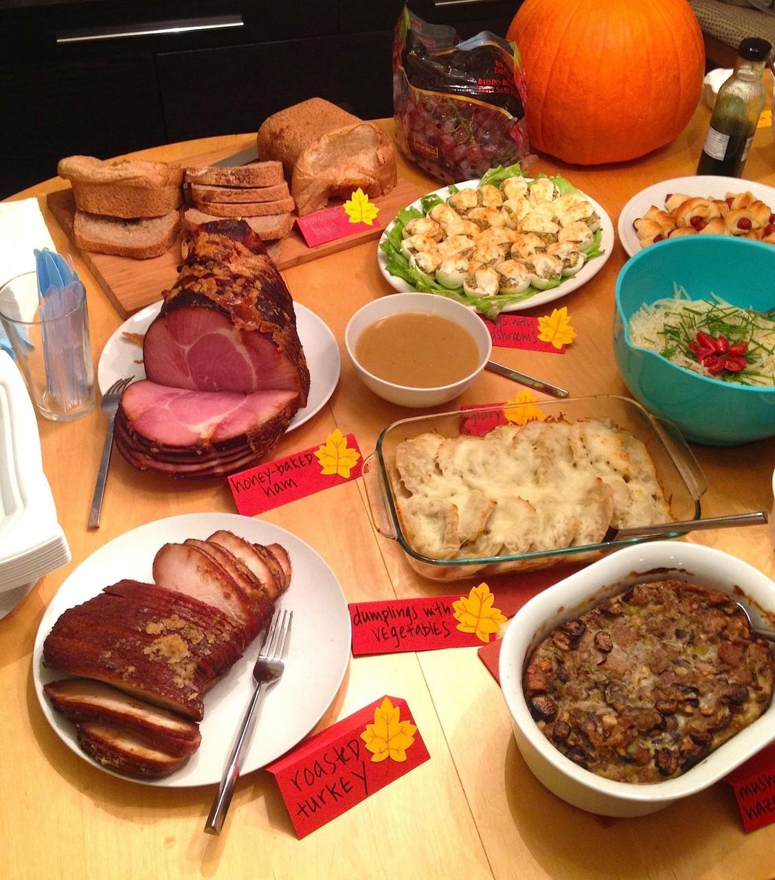 Unser Thanksgiving Dinner