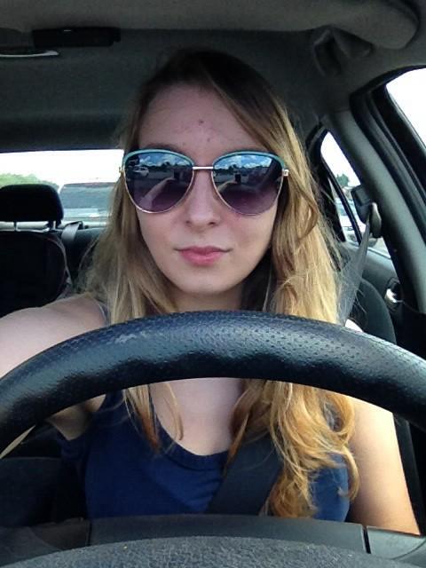 nicht während dem Autofahren aber kurz davor :-)