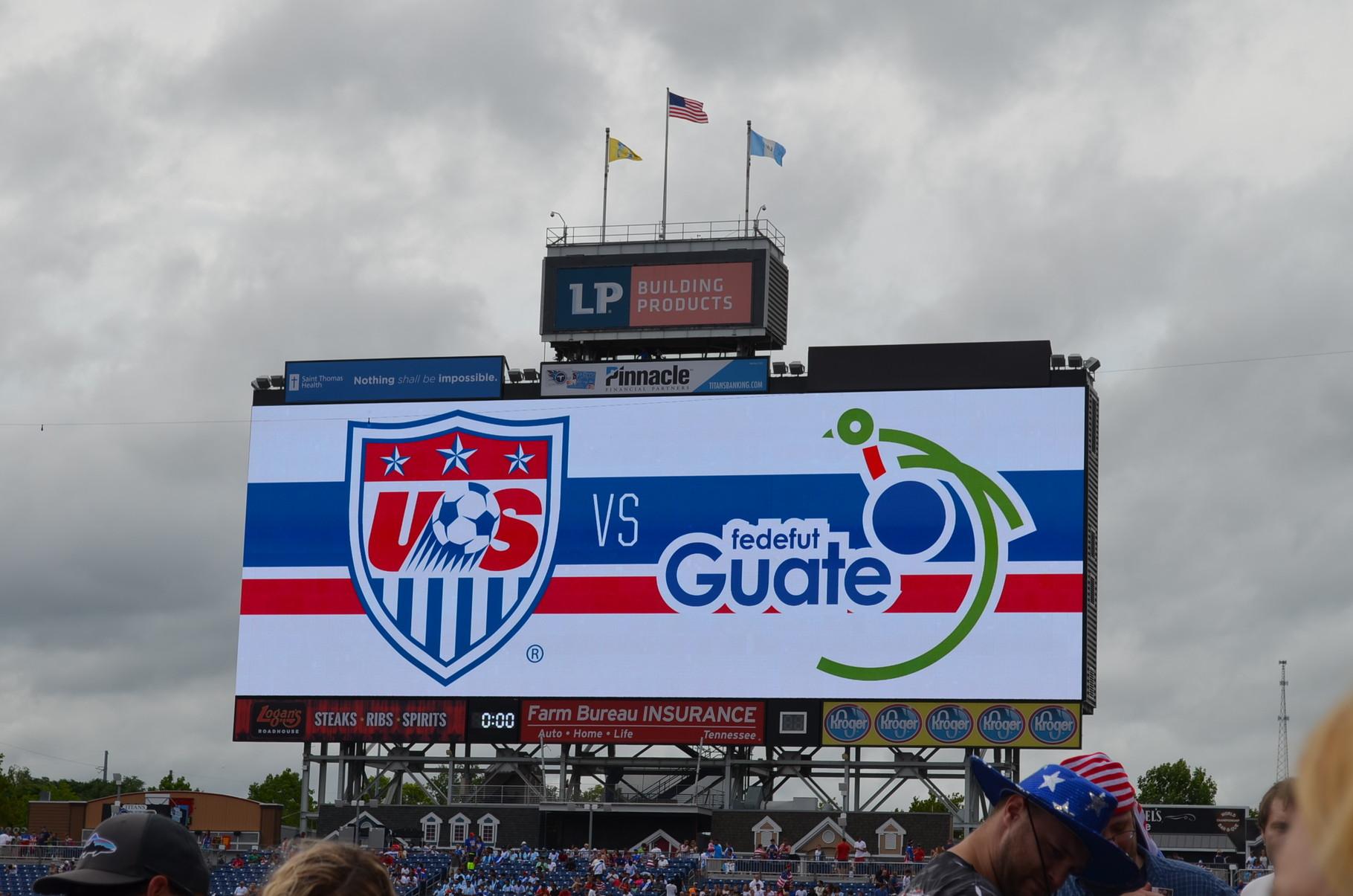 USA vs. Guatemala