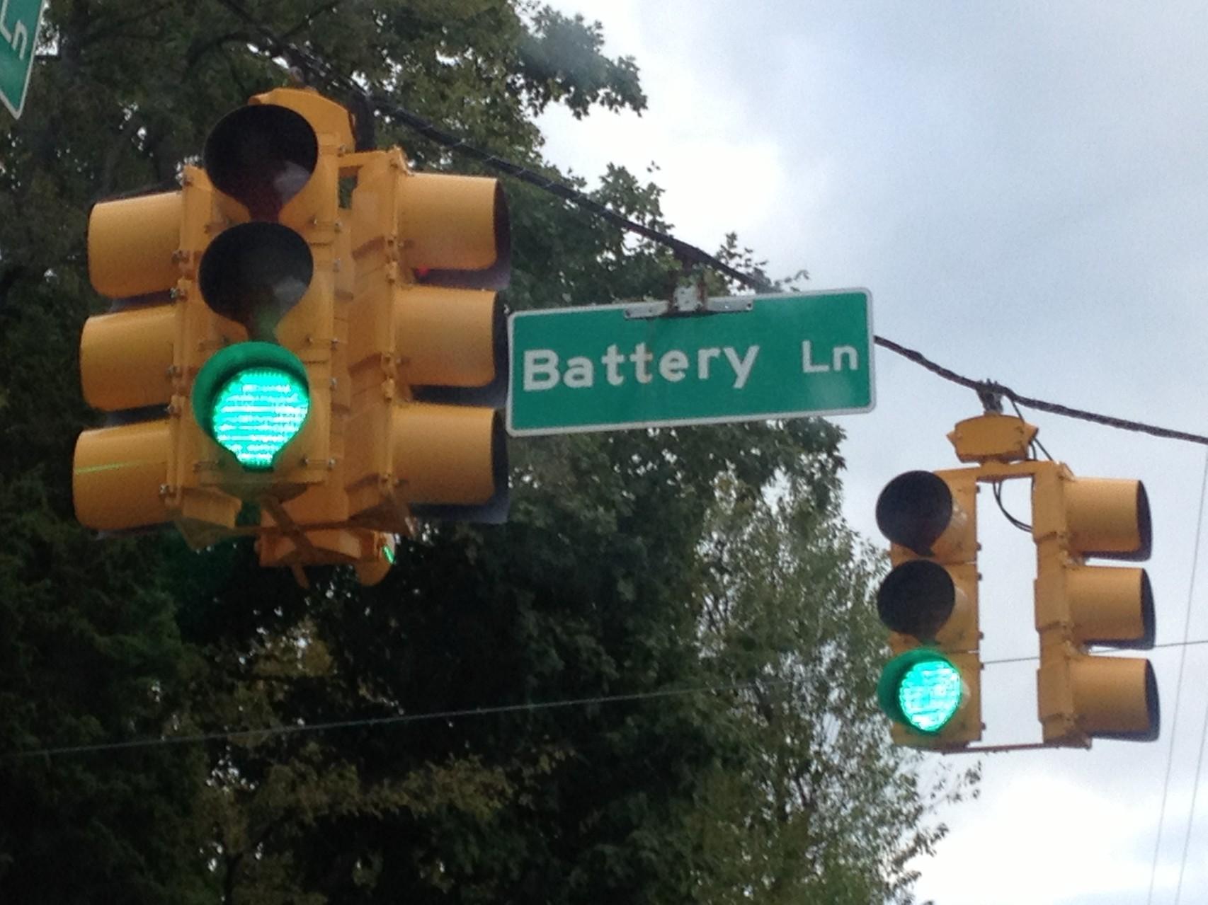 """Batterie Straße"""