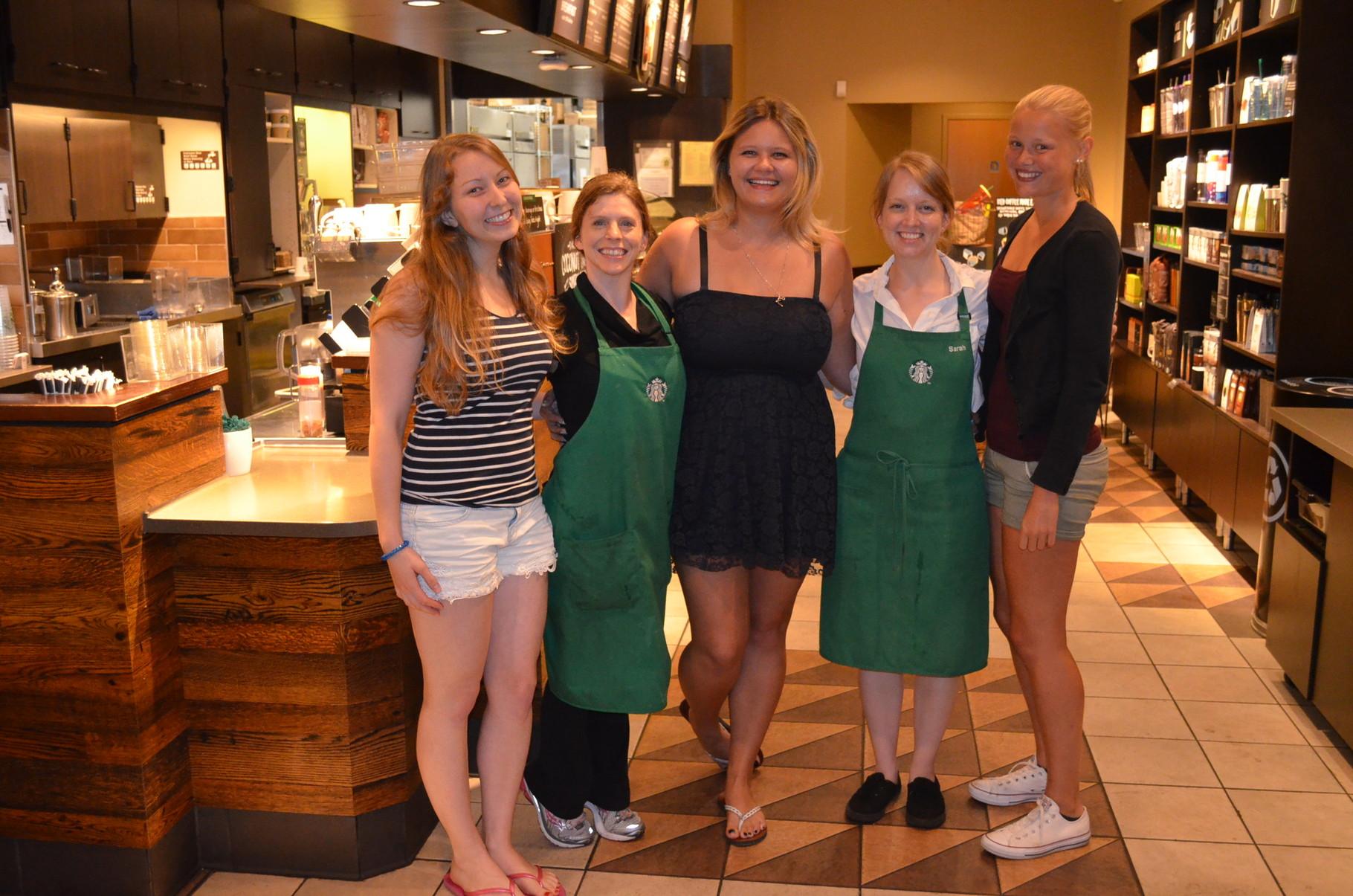 unsere Liebsten Starbucks Mitarbeiter
