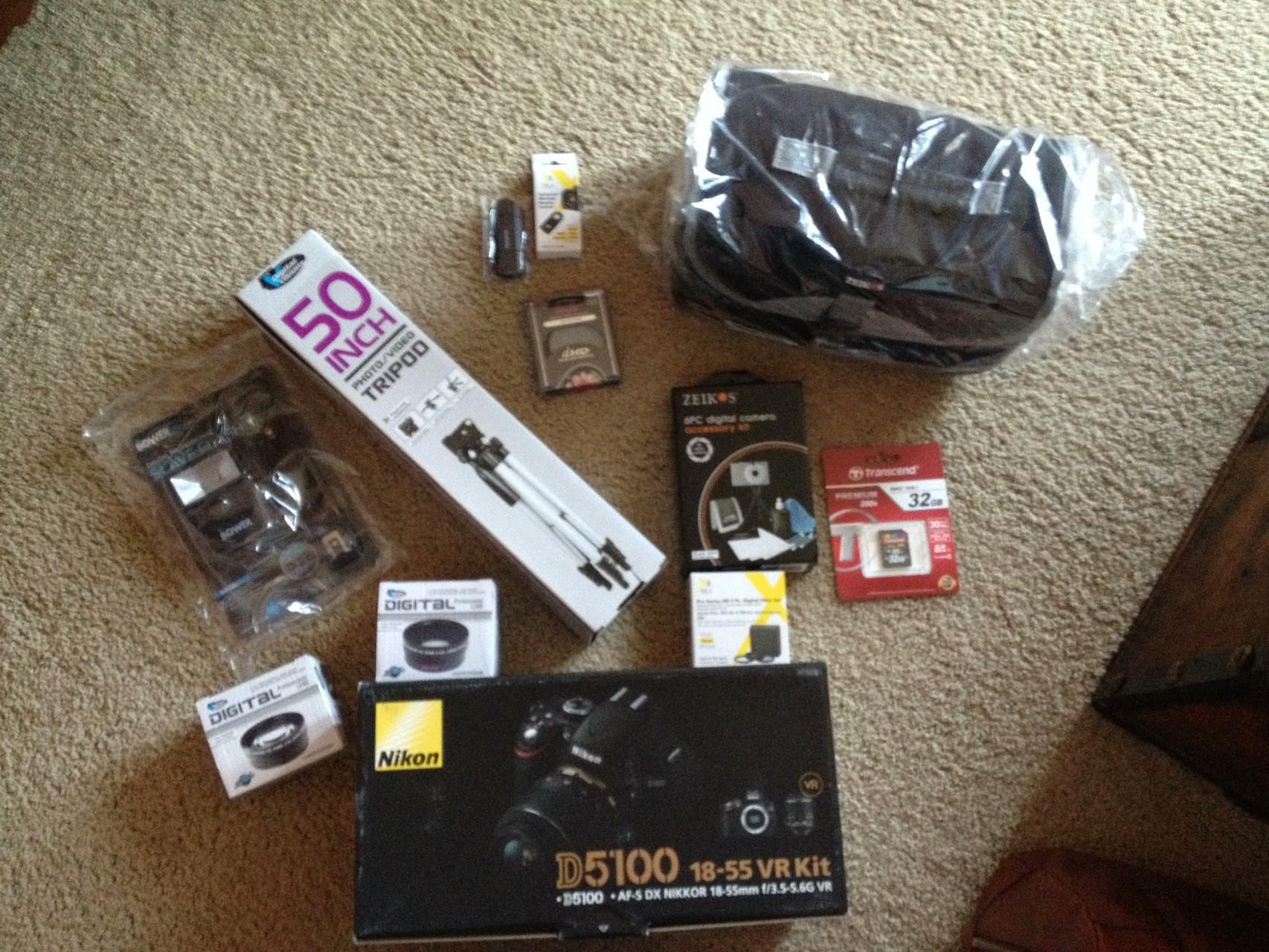 Mein Paket ist angekommen...