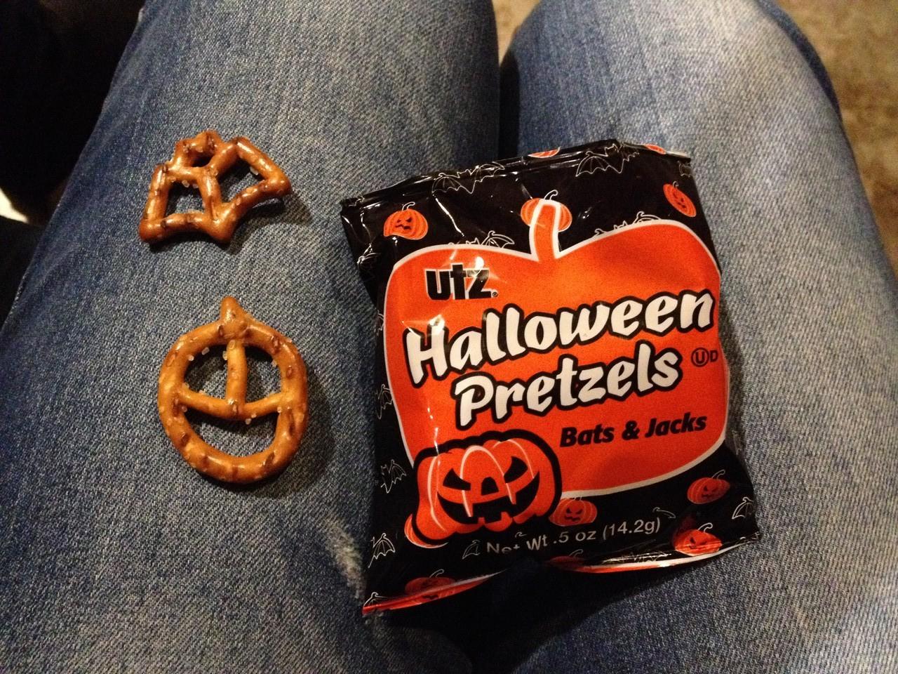 Halloween Salzbretzeln