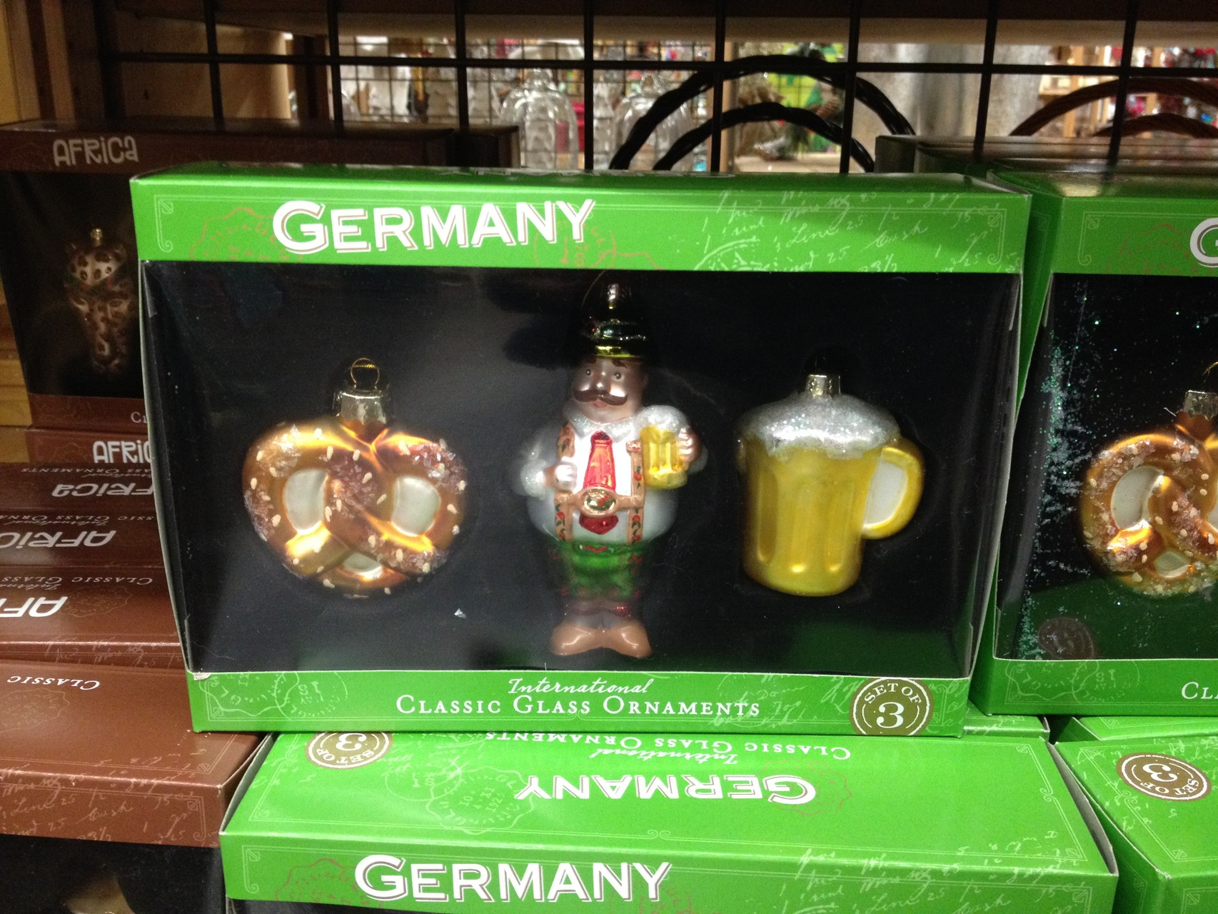 """""""Deutsche"""" Ornamente für den Baum"""