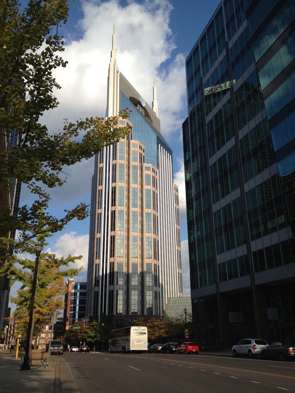 Batman Building in Nashville