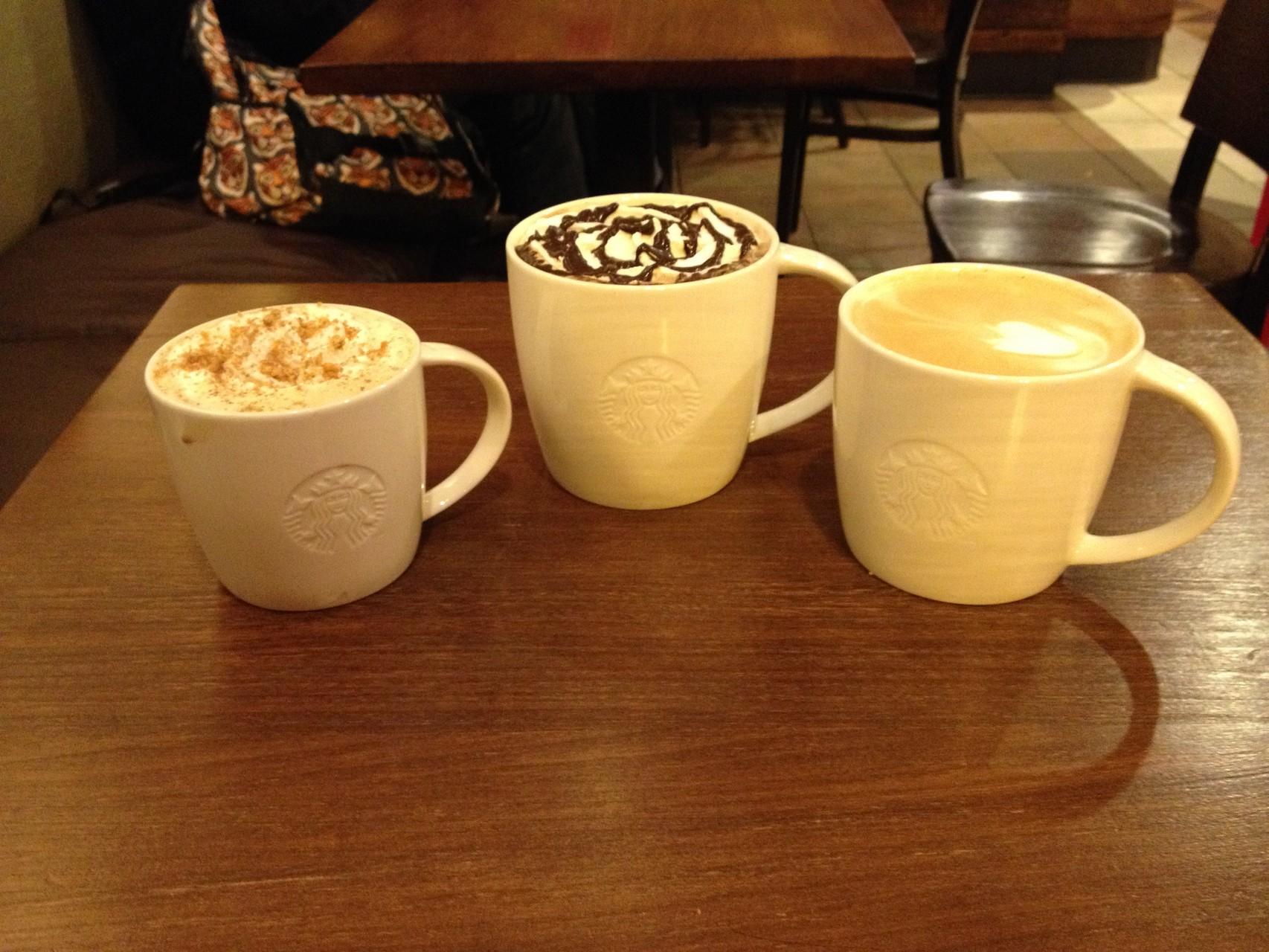 Starbucks genießen