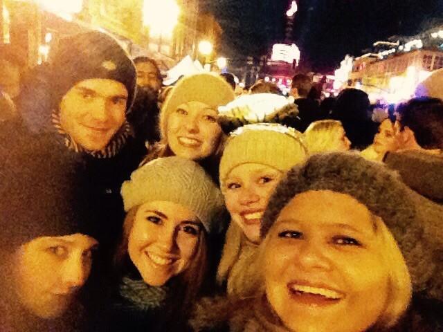 Selfie unserer Gruppe :)