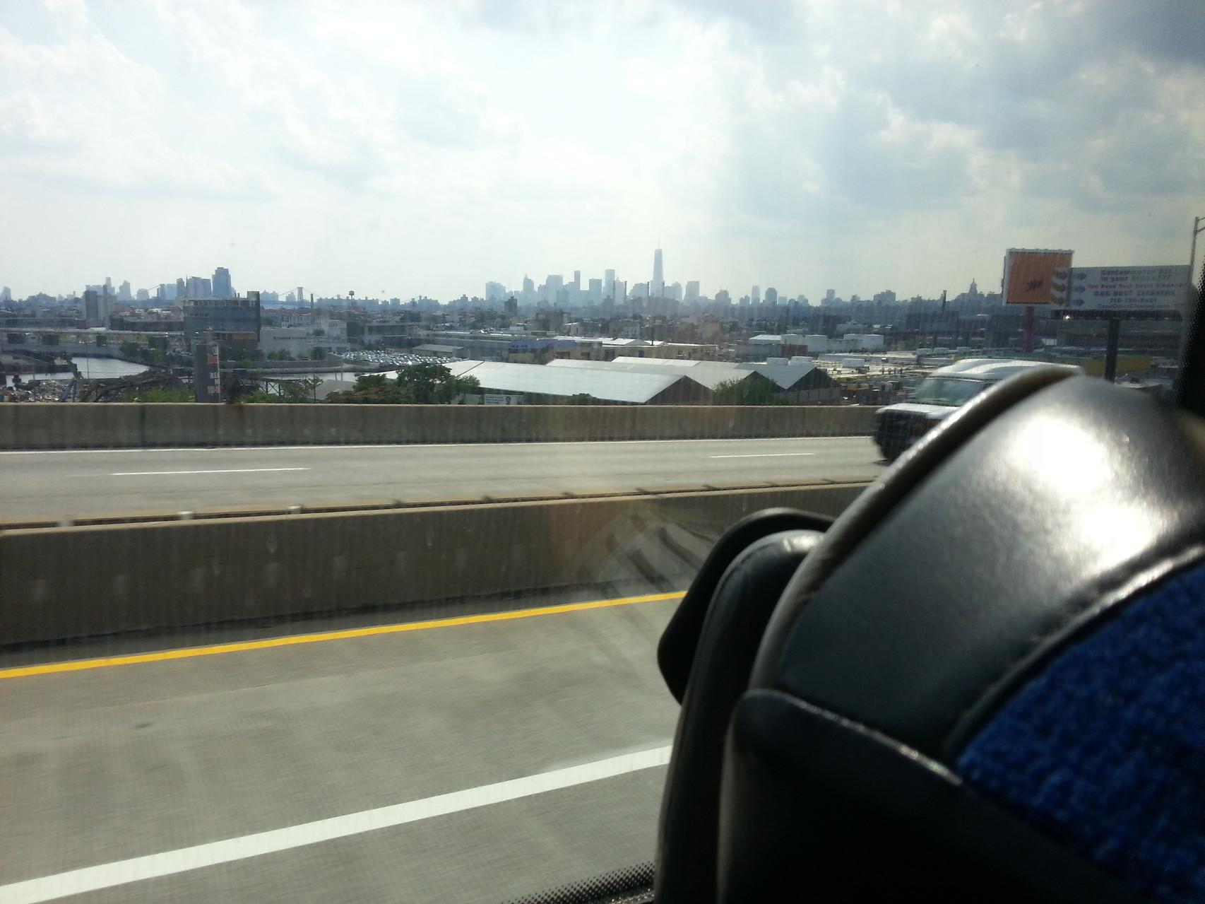 Skyline of NYC