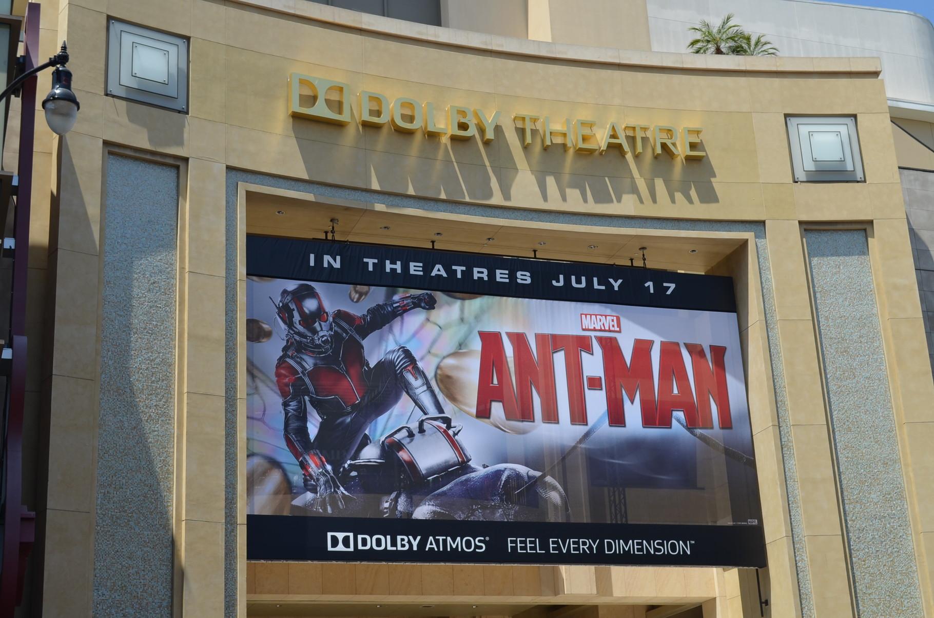 Dolby Theatre, hier ist immer der rote Teppich