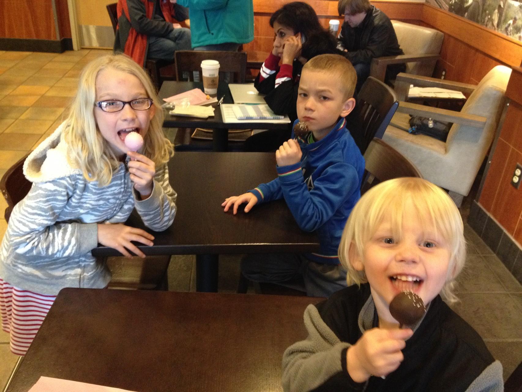 Cakepops bei Starbucks
