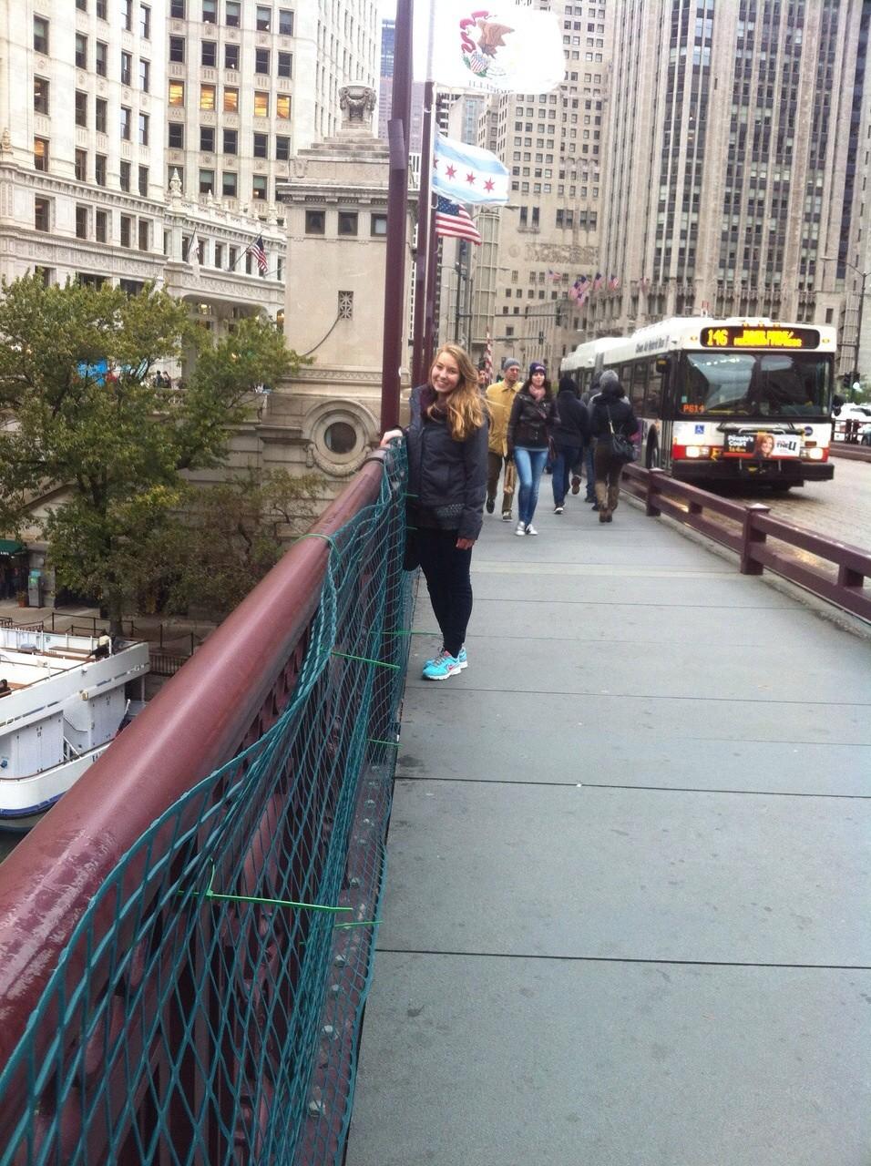 Brücke in der Innenstadt