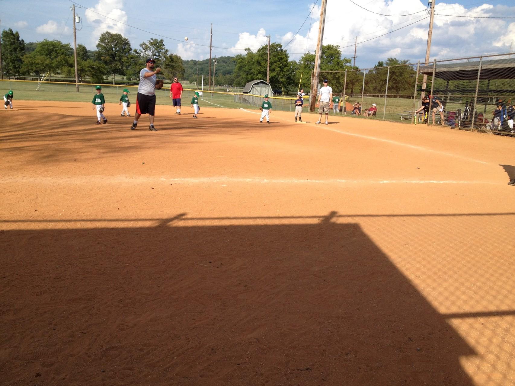 Mein allererstes Baseballspiel (natürlich nur als Zuschauerin ;D)